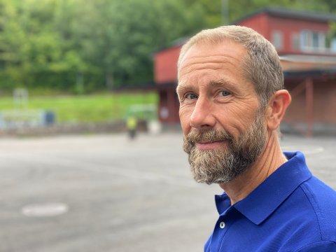SKIFTER BEITE: Etter åtte år som rektor ved Lillås skole, har Leif Morten Ranvik funnet noe helt annet han har lyst til å jobbe med.