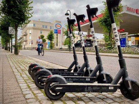 LOKALE REGLER: Politikerne i Horten vil trolig innføre egne lokale regler for elsparkesyklene.