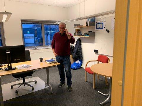 Jan Pape har sluttet som avdelingsleder i teknisk drift. Foreløpig har han ikke fått noen erstatter.