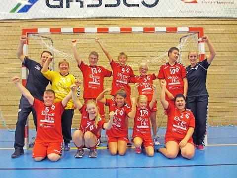 Ålgård håndballklubbs HC-lag får 25.000 kroner.