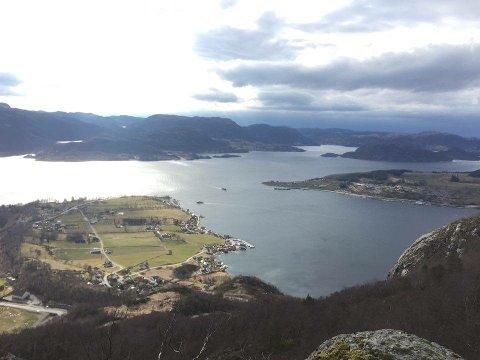 Sandnes-politikerne satser på cruiseturisme i Høgsfjorden.