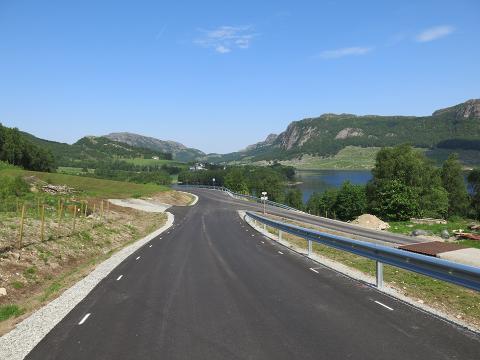 Veien til Brekko er nå fire meter bred.