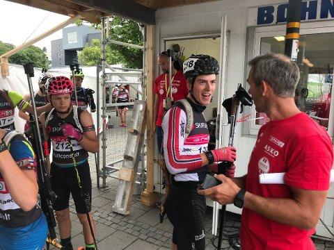 Martin Nevland tok to medaljer i helgens NM i Steinkjer. Dette bildet er fra Blinken hvor han også leverte flere gode løp.