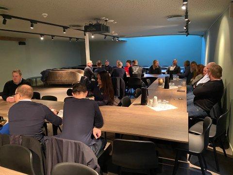 Status på håndballhallen, det sportslige og økonomien var blant annet noe av det som sto på agendaen under Ålgård HKs sponsormøte.