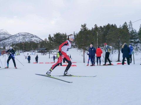 Gjesdal idrettslags Elisa Vestvik Edland ble nummer tre på sprintdistansen og nummer på to på distanserennet under kretsmesterskapet på Hovden.