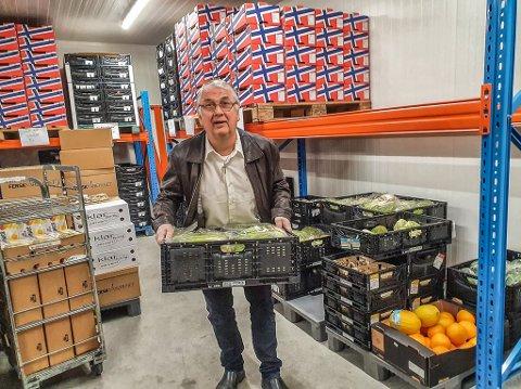 Siden mars har minstepensjonisten Peder Solli fra Figgjo delt ut tolv tonn mat til vanskeligstilte i Stavanger.