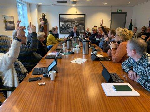 Marit Høie (H), Magnar Mæland (KrF), Trygve Ravndal (Frp) og Tom Kalsås (Ap) stemte for rådmannens forslag til vedtak. De fire politikerne var i mindretall da saken om oppdrettsanlegg i Frafjord ble behandlet i formannskapet torsdag.