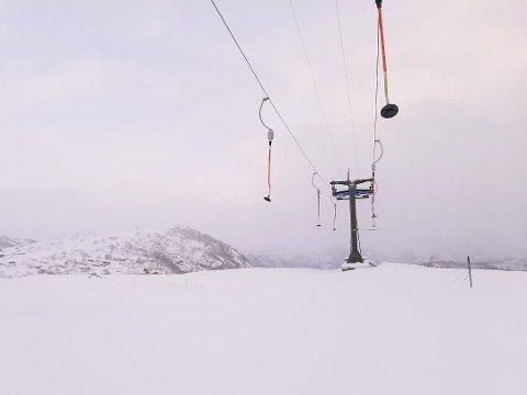 NYSNØ: Store snømengder til vinterferien lover godt i Sirdal. (arkiv)
