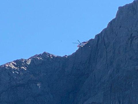 Paraglideren ble hentet av Seaking