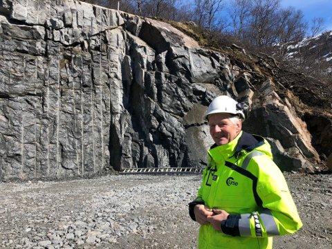 Per Øyvind Ohnstad er byggeleder for prosjektet i Maudal.