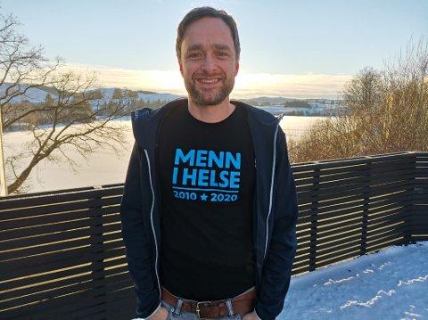 """Knut Harald Myklebust er med i prosjektet """"Menn i helse"""" som rekrutterer menn til helsetjenesten."""