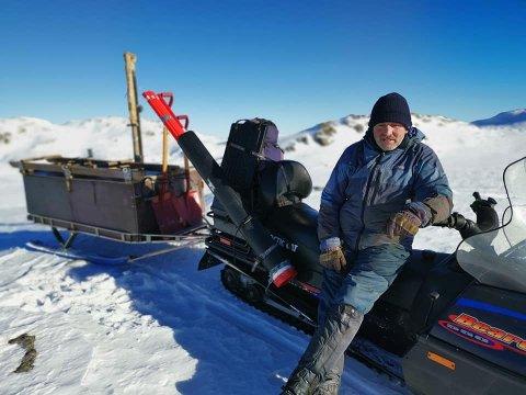 Idyll. Trond Nærland har selv hytte på Madland og har nå lagt ned mye arbeid i og oppgradere det gamle rutenettet som Stavanger Skiforening stod for tilbake på 50-tallet.