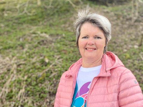 Jorunn er frivillig i Kreftforeningen.