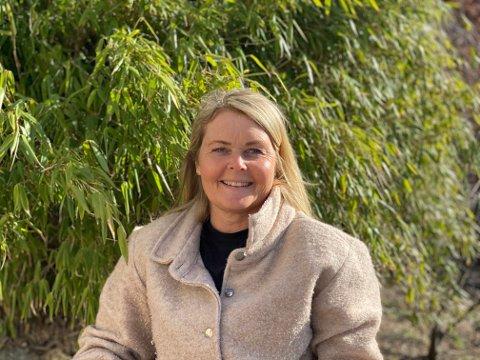 Kristin Kalheim Bruflodt jobber som hagedesigner og har hendene fulle om dagen.