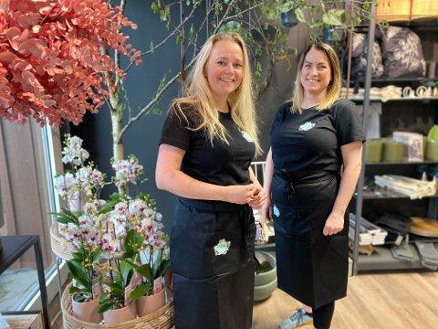 Anette Egeland og Anette Oftedal gjør seg klar til nyåpning torsdag 26. mai.