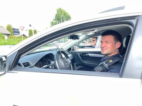 Rudi Skotnes forteller at Utrykningspolitiet denne uken konsentrerer seg om riks- og europaveier.