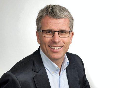 NEDGANG: Hedmark opplever nedgang i ledigheten, noe NAV-direktør Bjørn Lien er glad for.