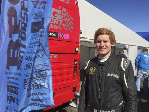 Ser mot belgia: Ben-Philip Gundersen kjører både NM og EM og kom på 3. plass i klasse 3. Neste helg venter EM-runde i Belgia.