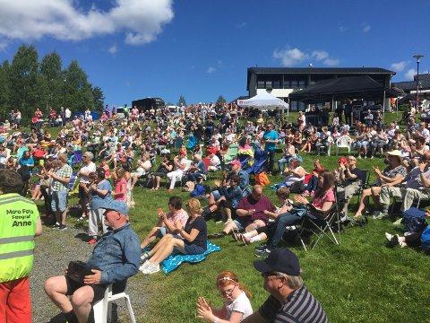 POPULÆRT: Morodalsfestivalen kan få rekordoppslutning i år.