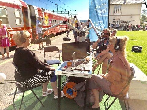 DIREKTE: Monika Kristensen direkte på Reiseradioen fra