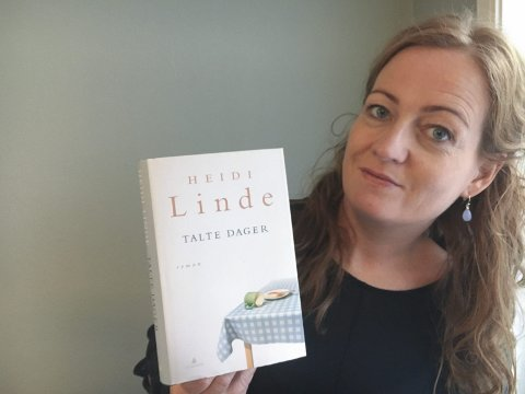 ALVOR OG SPENNING: Heidi Lindes roman «Talte dager» følger seks mennesker i fire dager, og hvordan deres valg får store konsekvenser.