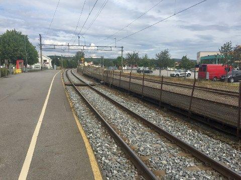 ARBEID: Bane Nor skal foreta utbedringsarbeider på Kongsvingerbanen fra mandag.