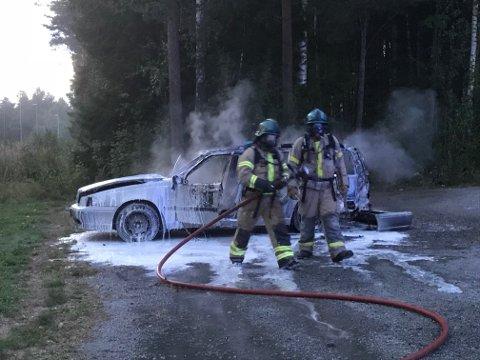 FØRST UTE: Brannvesenet er stadig oftere før politiet på skadesteder når alle nødetatene varsles.