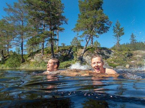 REKORD: Sist fredag ble det satt nye varmerekorder flere steder i landet. Varmest var det i Oslo, med 34,6 grader på Blindern, selv om dette ikke var ny rekord. Onsdag ble det klart at årets julimåned deler førsteplassen som den varmeste siden landsdekkende målinger startet i 1900.
