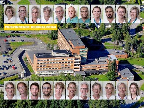 «Sykehuset vårt»: Glåmdalens store sykehus-prosjek er med i kampen om Norges jeveste journalistpris, Skup-prisen.
