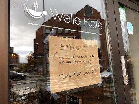 KONKURS: Welle kafé ble slått konkurs i oktober i fjor. Nå avslutter bostyrer Geir Langhelle behandlingen av boet, for det er ikke mer penger å hente.