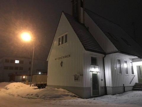 MØTESTEDET: Noen våger ikke si noe første gangen de kommer til AA-møte i Metodistkirken i Kongsvinger. Nå i jula har Kongsvinger AA-gruppe to møter.