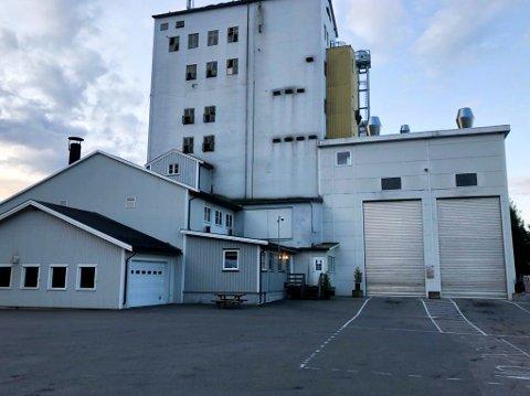 STREIK: Det var ingen aktivitet ved kornmottaket til Felleskjøpet på Kirkenær tirsdag morgen.