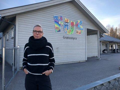 BEKLAGER: Marianne H. Midthun, daglig leder ved Grønnmyra barnehage.