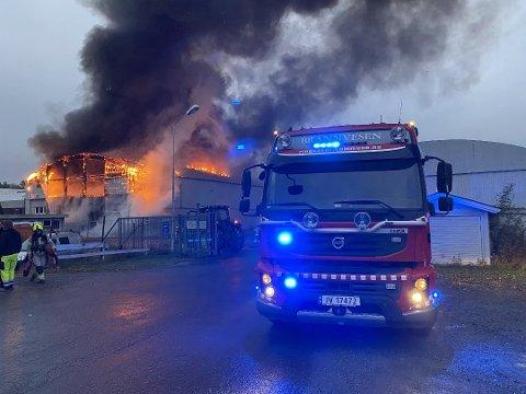DØDSBRANN: To personer ble funnet døde etter brannen i Storgata 78 i Moelv 30. oktober.