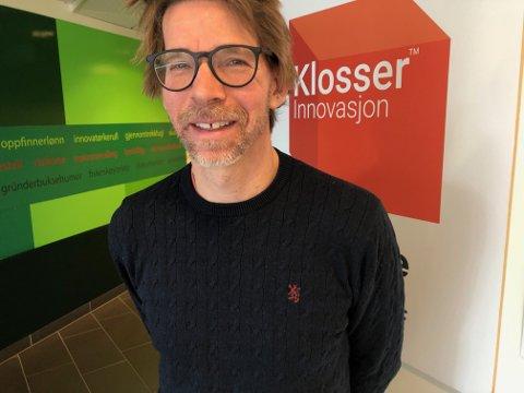 OVERTAR: Lars Gillund overtar som ny daglig leder i Klosser Innovasjon i Kongsvinger.