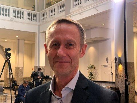 Direktør Audun Hågå i Statens legemiddelverk er spent på effekten av den nær forestående vaksinen. Foto: Heidi Schei Lilleås
