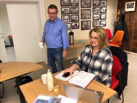 SAMARBEID: Grue Høyre, ved Niels F. Rolsdorph og Anita Madshus ser for seg samarbeid med andre innen rus og psykiatri. Grue bruker alene 25 millioner kroner i året på fire ressurskrevende brukere.