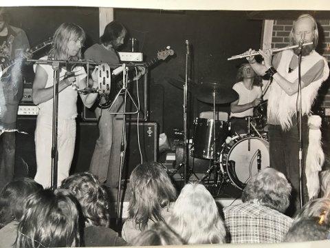 Jahn Teigens band Popol Vuh var blant artistene som trakk fullt hus på Slobrua en gang på 70-tallet.