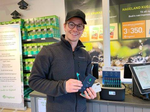 GRÜNDER: Even Moss Lundemo og hans team har funnet fram til en løsning som gjør at du slipper å gå tom for strøm på mobilen din