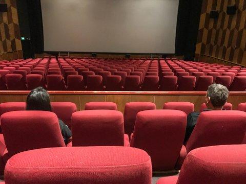TOMT: Kinosalen i Rådhusteatret har stått tom store deler av 2020.
