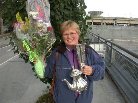 2001: Heidi - som da het Trudvang - hadde ikke i sine villeste drømmer trodd hun skulle bli skytterprinsesse i Bodø. FOTO: STIG ATLE BAKKE