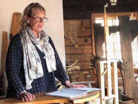 SLUTTER: Herdis Bragelien slutter som leder i paraplyorganisasjonen Finnskogen Natur-og Kulturpark. Men er med videre i en overlappingsperiode til ny leder er på plass.