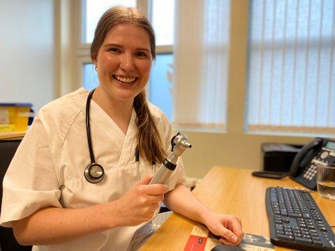 Victoria har lyst til å dykke dypere ned i medisinfaget, og hun mener at forskning og mer kunnskap aldri kan være noen ulempe.