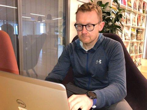 MARERITT: Bjørn Einar Rudshagen har søkt på rundt regnet 200 jobber - men står fortsatt uten fast arbeid.