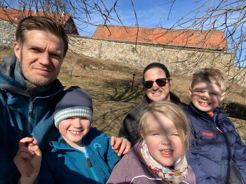 Kai Olav Ryen og familien koser seg i påsken selv om ferien ikke ble helt som først planlagt