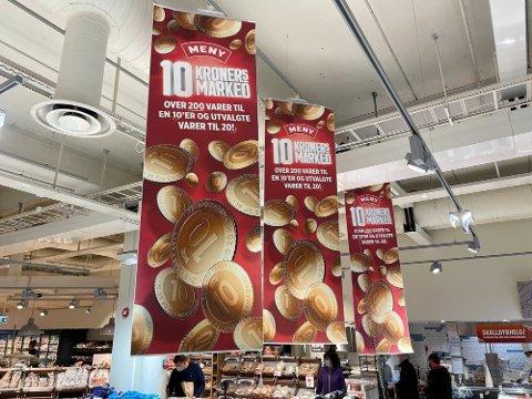 BIILLIGSALG: Meny og Coop selger mange varer med store priskutt denne uken. Foto: Nina Lorvik