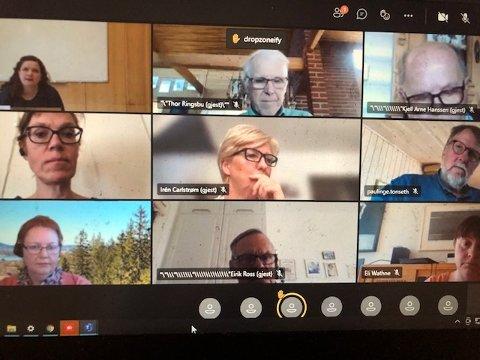 STØTTE: Formannskapet i Kongsvinger ga i all hovedsak ordfører Margrethe Harr støtte for å gå videre med rådmennenes forslag til ny E 16-trasé. FOTO: SIGMUND FOSSEN
