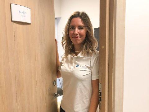 INNHAVER: Kaja Born jobber som Osteopat både i Oslo og på Sand i Nord-Odal. Hun startet en klinikk på Sand. Flere ville kanskje tenkt om det er et marked for dette på Sand, og Kaja har svaret.