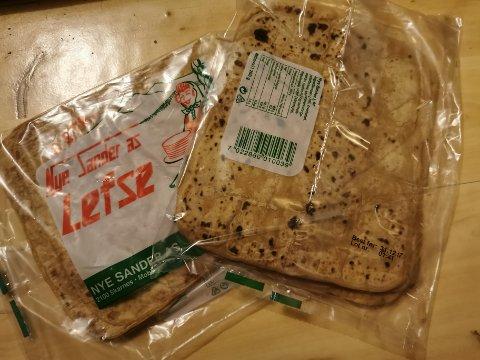 Randi har hatt disse i spisskammerset siden de ble kjøpt inn til jul i 2017.