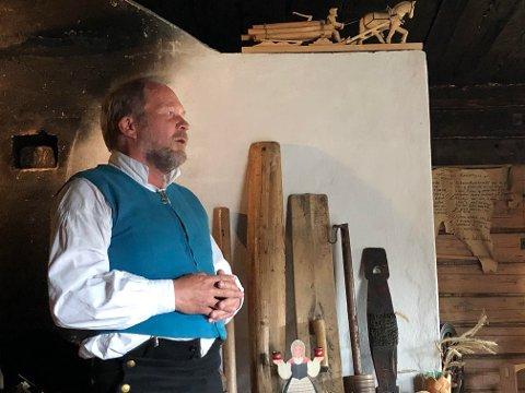 TRAVELT: Dag Raaberg, daglig leder i Norsk Skogfinsk Museum, vil ha fortgang i utbetaling av penger til forprosjektet for museumsbygg i Svullrya. Men en samarbeidsklausul fra departementet, kan forsinke prosessen.